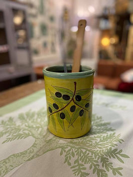Pot ustensiles poterie deco forcalquier alpes de haute provence 04