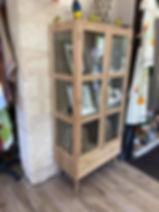 Vitrine meuble déco Forcalquier Alpes de Haute Provence 04