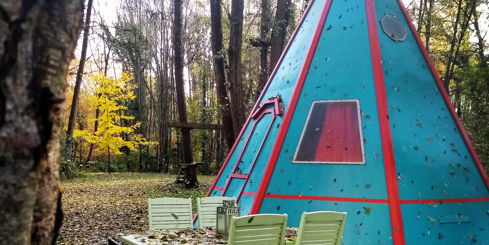 Tipi (Chambre l'ours brun)