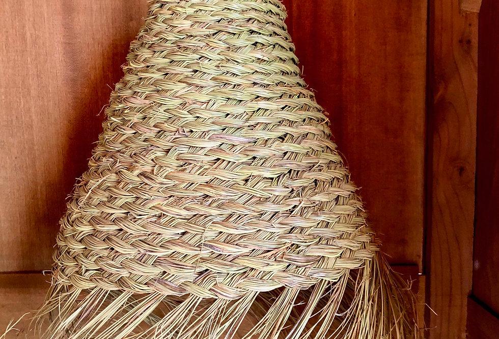 Gevlochten hanglamp 30cm