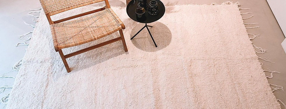 Wit tapijt 140x200cm