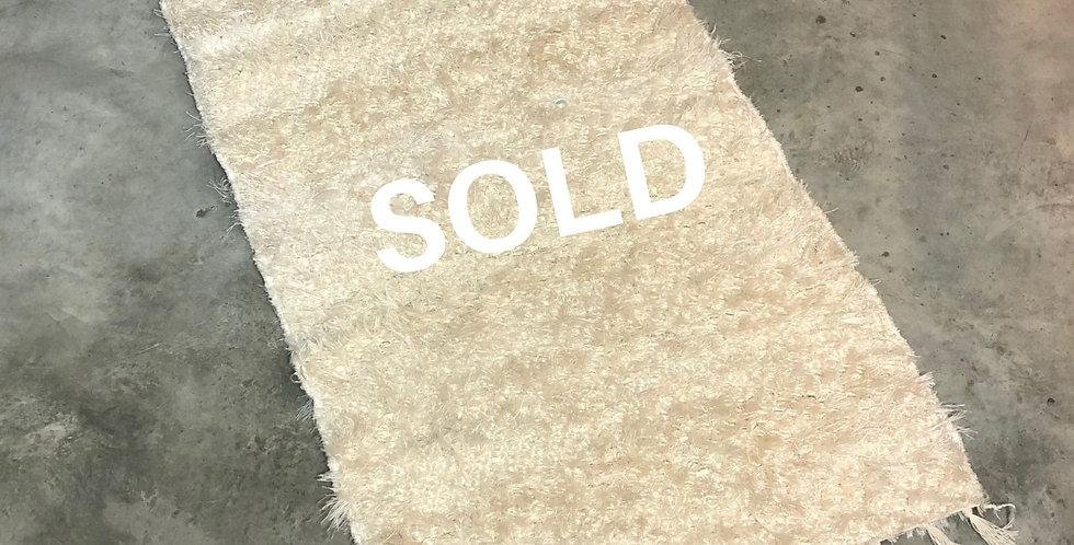 Wit tapijt 60x120cm