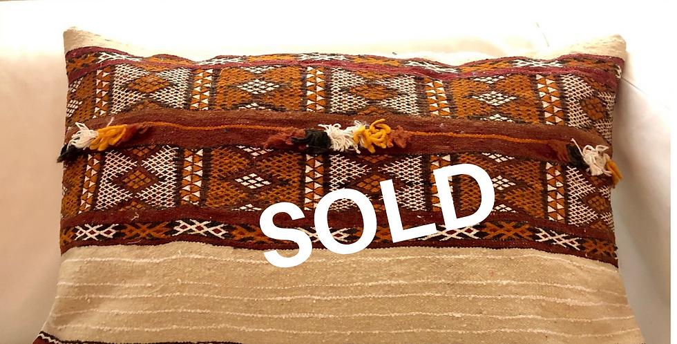 Berber kussen 60x40cm
