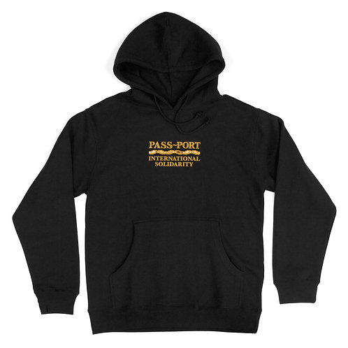 Pass~Port Inter Solid Hoodie Black