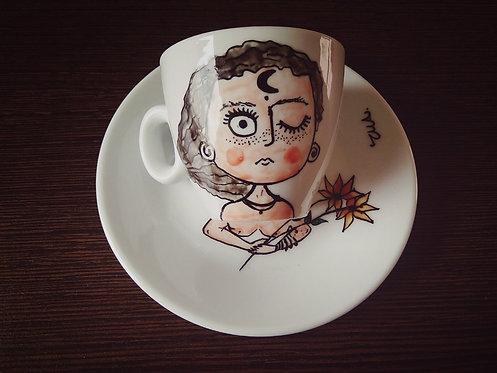 TMA Cupofcoffee `~Flower lady~