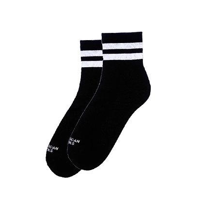 American Socks Back In Black Ankle High