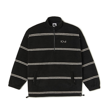 Polar Stripe Fleece Pullover 2.0 Black