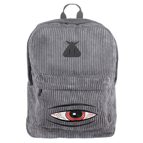 Bumbag X Toy Machine Scout Backpack Gray