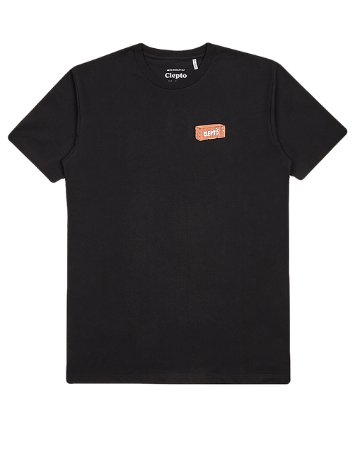 Cleptomanicx Tee Container Black