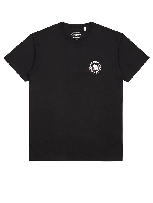 Cleptomanicx Tee Clepto Club Black