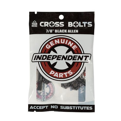 Independent Bolts Allen Black 7/8 IN