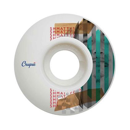 Crupie Wheels Shmatty Green Wide Shape 52MM