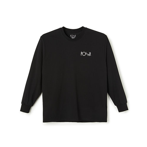 Polar ACAB Fill Logo L/S Black