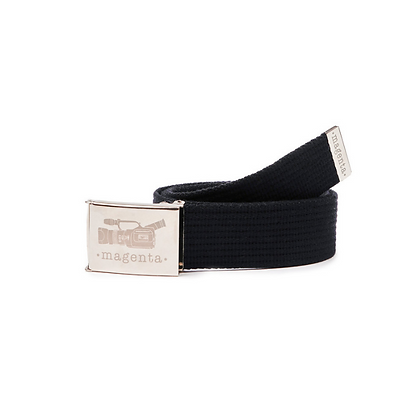 Magenta VX Buckle Up Belt Black
