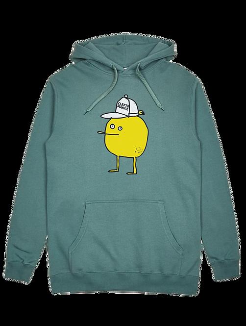 Cleptomanicx Hoodie Zitrone North Atlantic