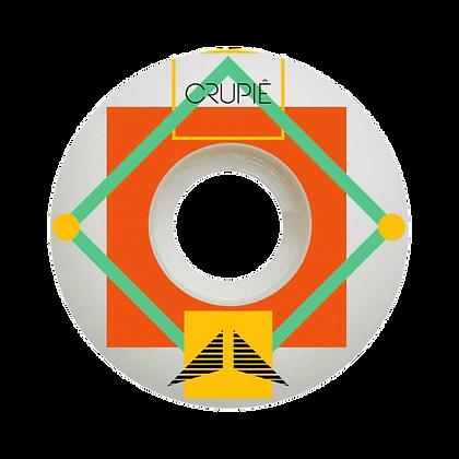 Crupie Wheels Square 54mm