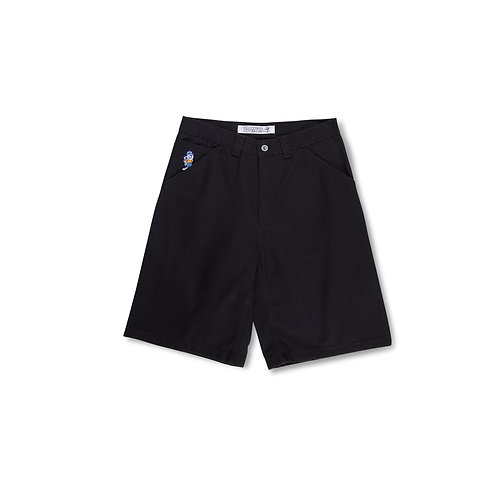 Polar '93 Canvas Shorts Black