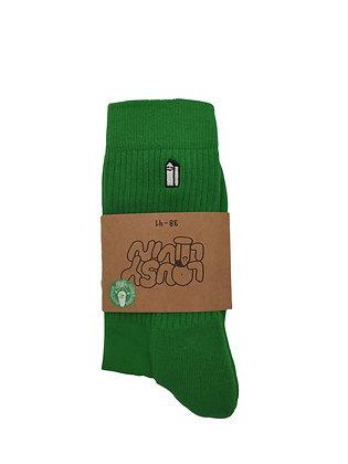 Lousy Livin Street Court Socks Green
