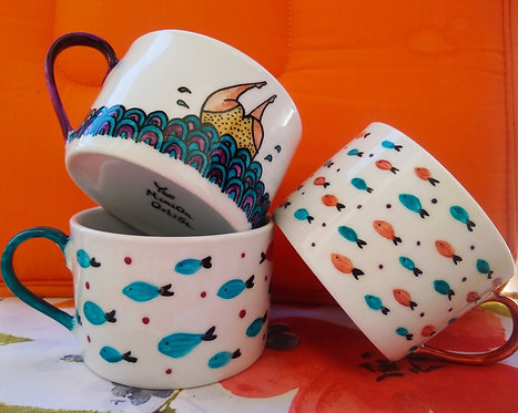 TMA Mug ~Little Fishes~