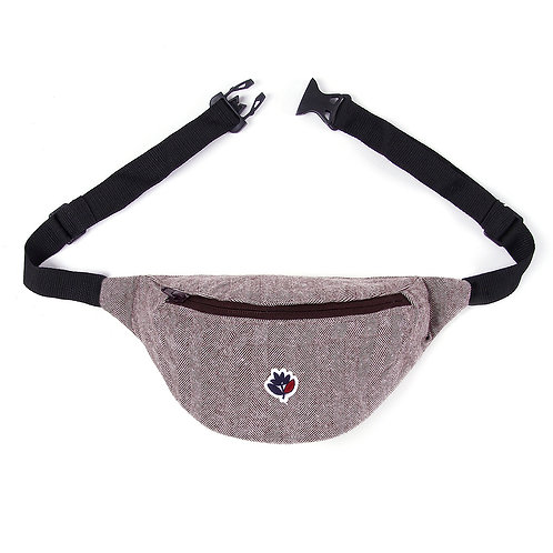 Magenta Hip Bag Herringbone