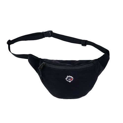 Magenta Hip Bag Black
