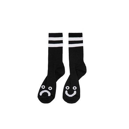Polar Socks Happy Sad Black