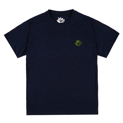 Magenta True Leaf Tee Navy