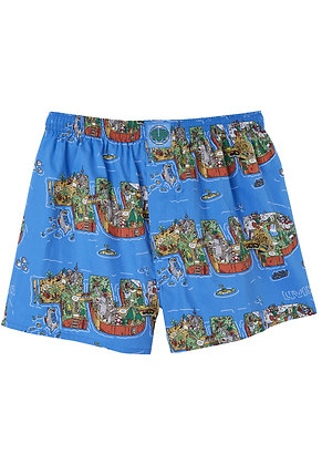 Lousy Livin Boxershorts One Up 4 Blue