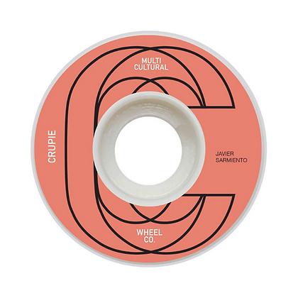 Crupie Wheels Javier Sarmiento Wide Shape 53MM