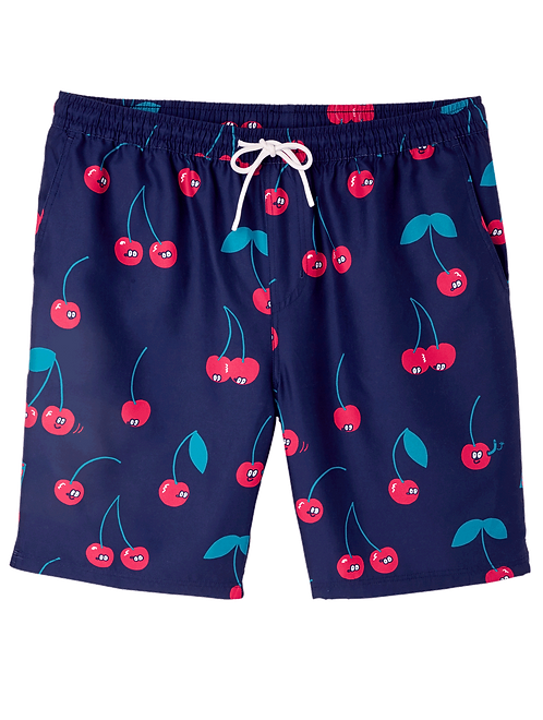 Lousy Livin Swimshorts Cherries Navy