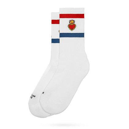 American Socks Heart on Fire Mid High