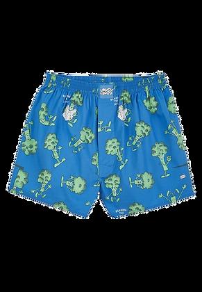 Lousy Livin Boxershorts Broccoli Directoire Blue