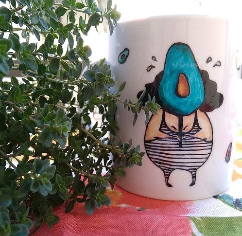TMA Mug ~Avocado~