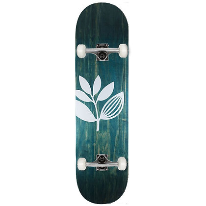 """Magenta Big Plant Complete Skateboard 7.875"""""""