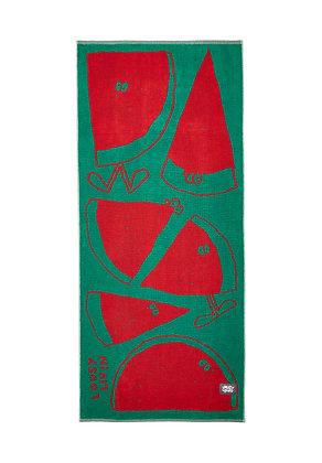 Lousy Livin Towel Melons Green