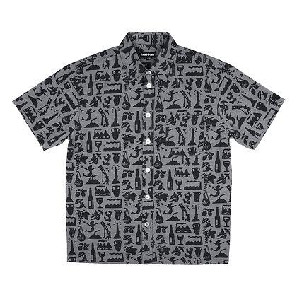 Pass ~ Port Life of Leisure Shortsleeve Shirt Black