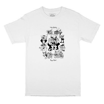 Pass~Port Toby Zoates Coppers Tee White