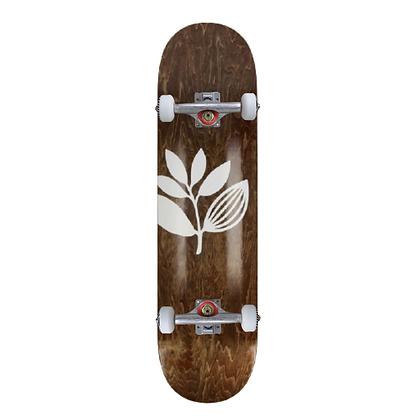 """Magenta Big Plant Complete Skateboard 8.0"""""""