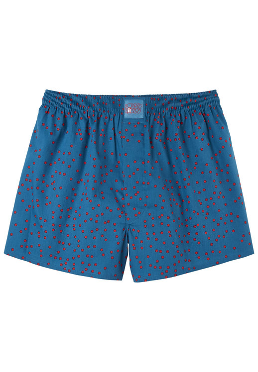 Lousy Livin Boxershorts Dots Teal