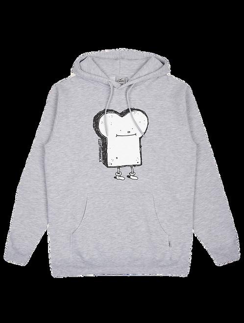 Cleptomanicx Hoodie Toast Light Grey