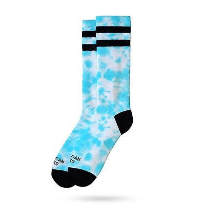 American Socks Mint Tie Dye Mid High