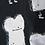 Thumbnail: Lousy Livin Boxershorts Toast Black
