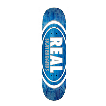 """Real Deck Team Oval Pearl Patterns 8.375"""""""