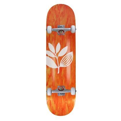 """Magenta Big Plant Complete Skateboard 8.375"""""""