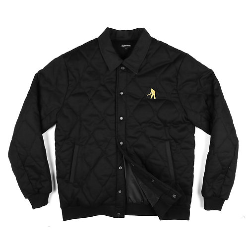 Pass ~ Port Late Quilted Jacket Black