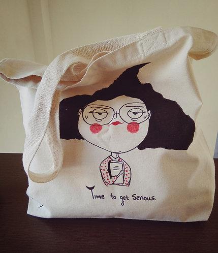 TMA Tote bags `~Get Serious~