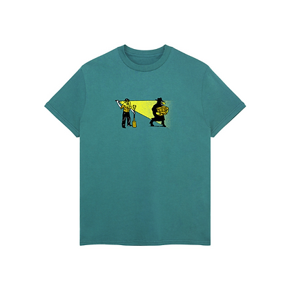 Pass~Port Caught In The Act Tee Jarde Green
