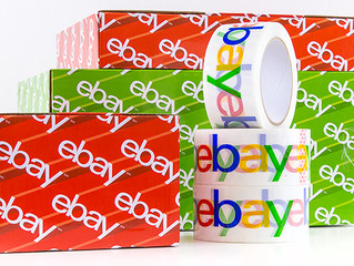 eBay launches branded boxes and packing tape