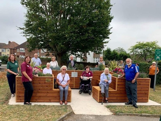 Our latest two new The Friendly Bench™ officially open