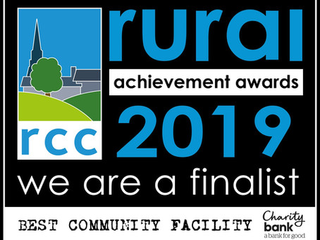 The Friendly Bench is a finalist for Rural Community Awards
